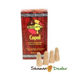 Copal inciense (box 20 cones)