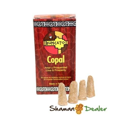 Copal inciense (box 20 cones) NATURAL INCENSES