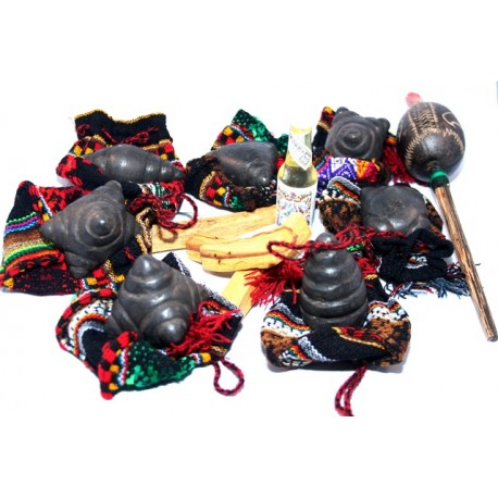 Set completo piedras khuyas OFRENDAS ANDINAS