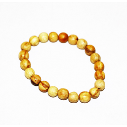 Palo santo bracelet from Peru - wood beads PALO SANTO ART