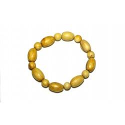 Palo Santo bracelet From Peru - small handmade beads PALO SANTO ART